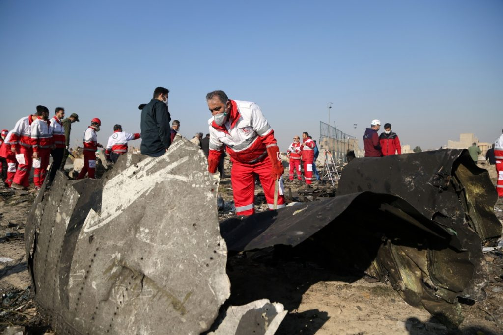 Incidente 737 Boeing Iran